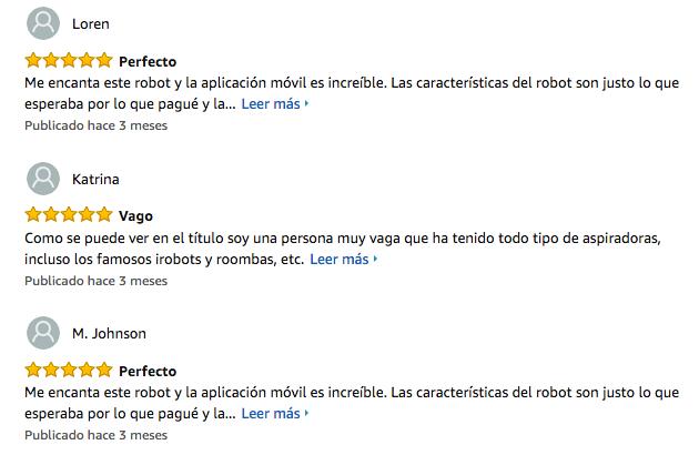 Robot aspirador Xiaomi Mi Robot Vacuum:Opiniones de los consumidores